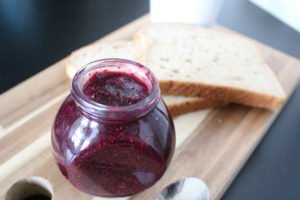 Healthy Blueberry Chia Jam