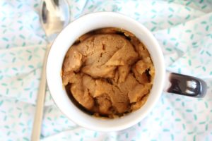 Peanut Butter Cookie in a Mug