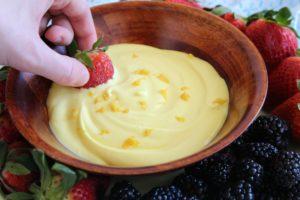 Lemon Dip for Fruit