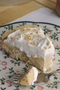 Peanut Butter Pie with Graham Cracker Crust