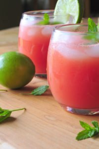 Heathy Watermelon Agua Fresca
