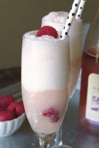 Rosé Ice Cream Float