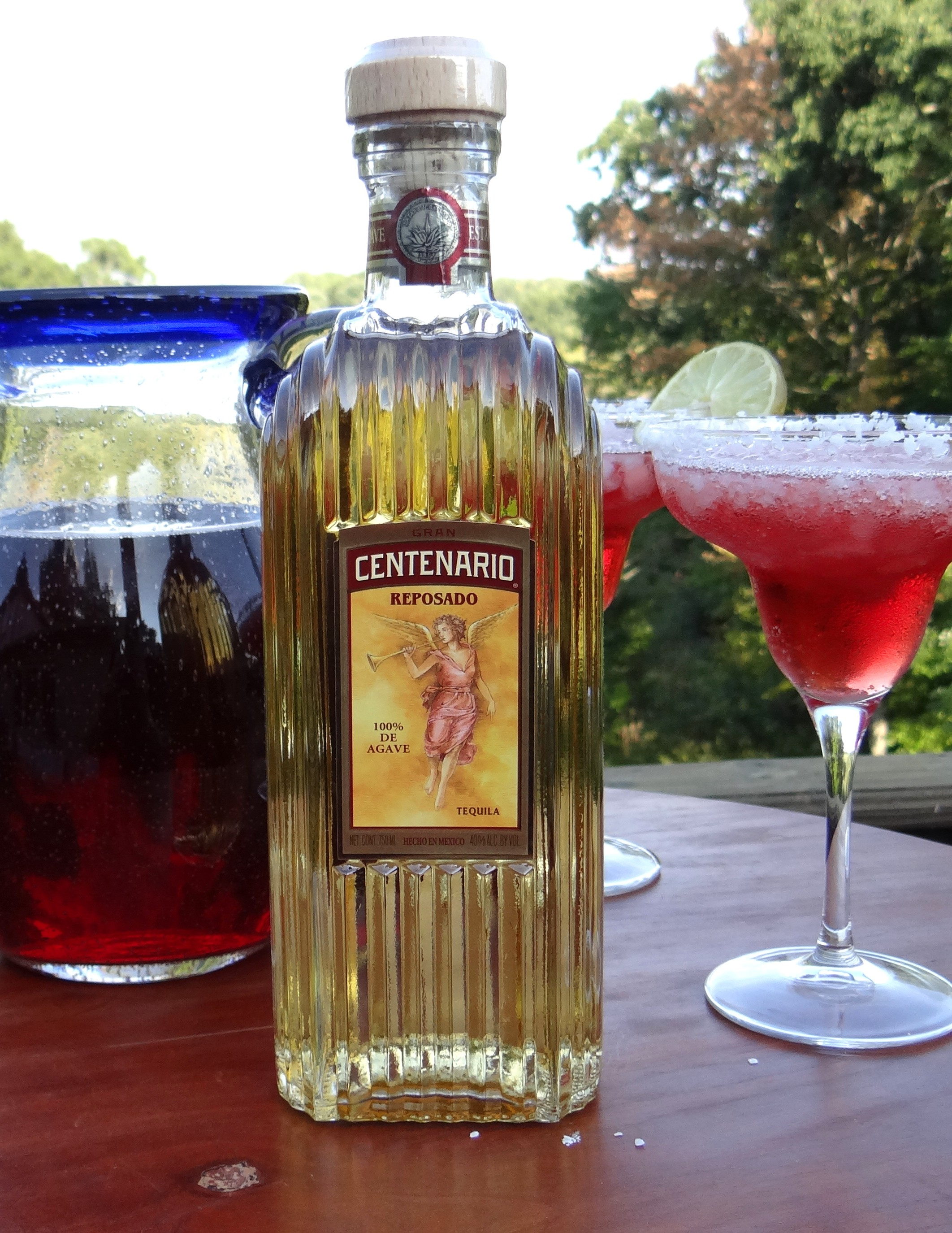 Cranberry Sunset Margarita