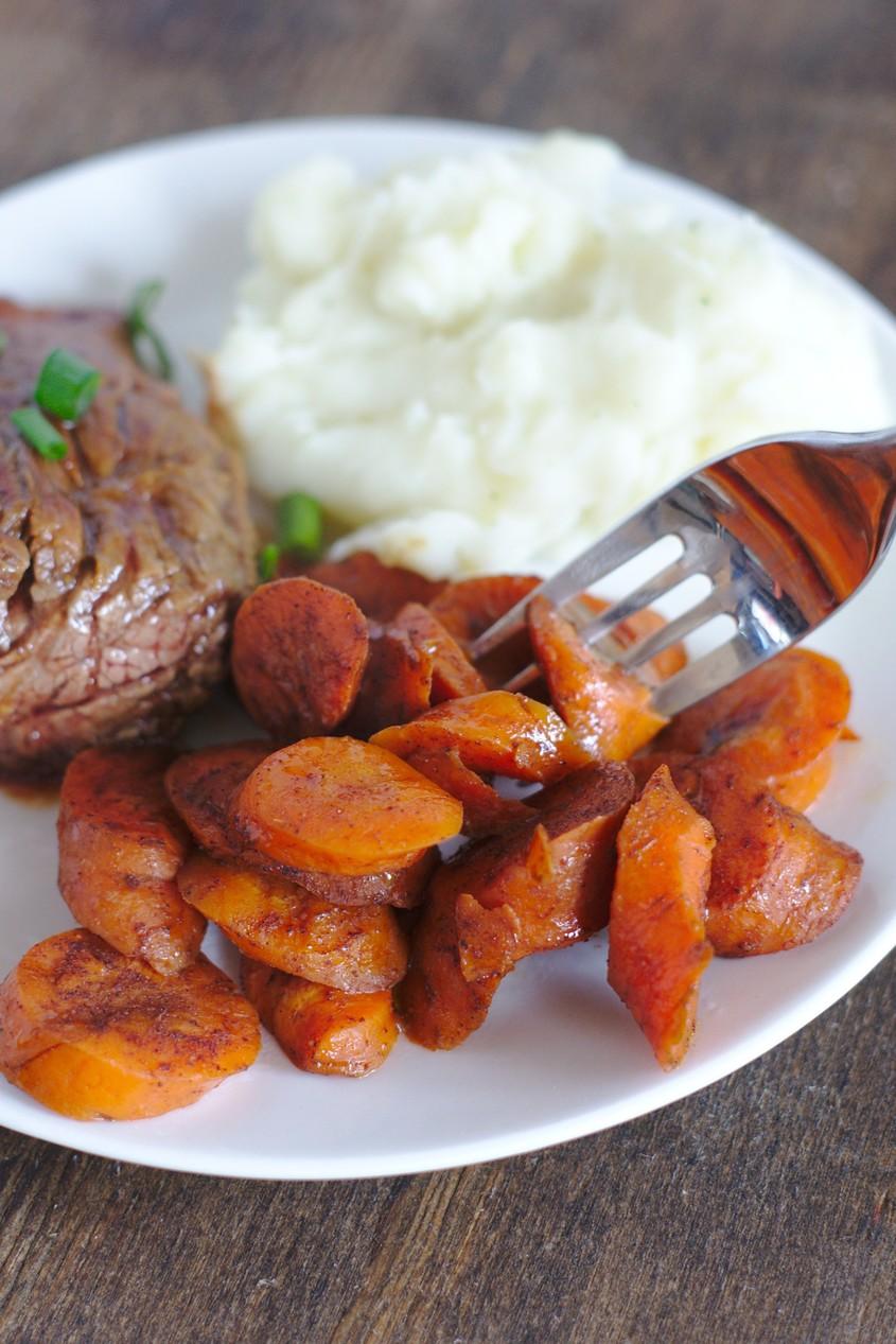 Crock Pot Glazed Carrots