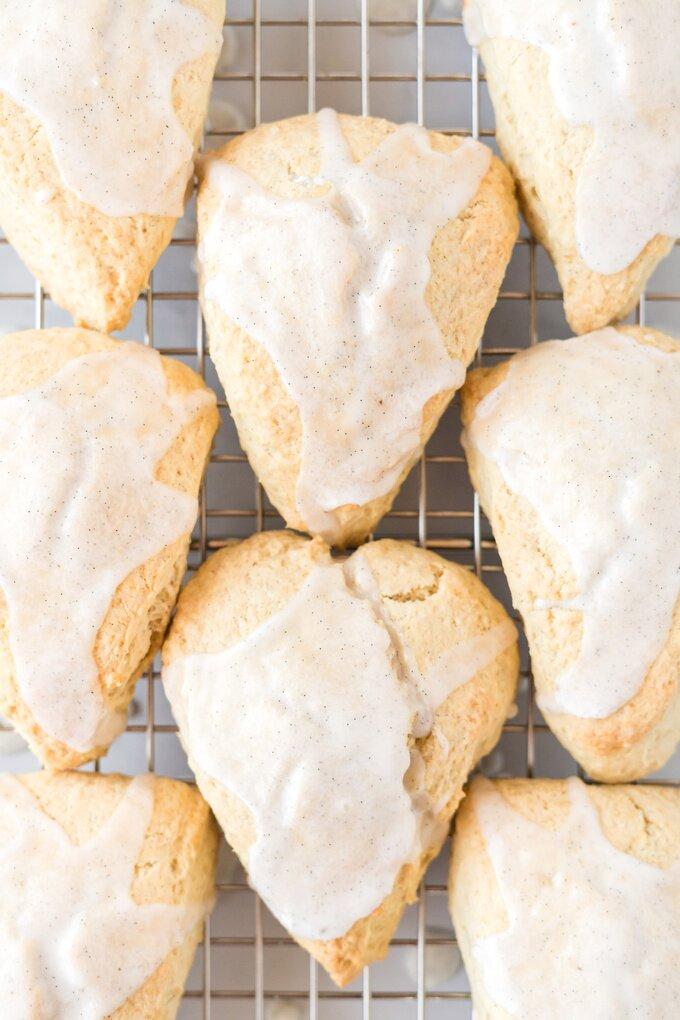 Vanilla Bean Scones Recipe