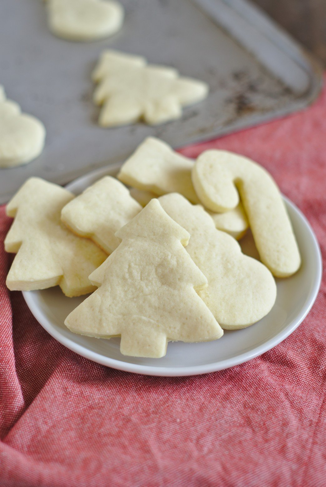 The Ultimate Healthy Cut-Out Sugar Cookies | Amy's Healthy ... |Soft Cut Out Sugar Cookie Recipe