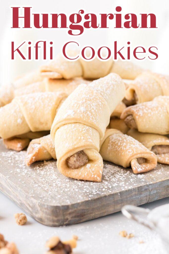 Hungarian Kifli Cookies
