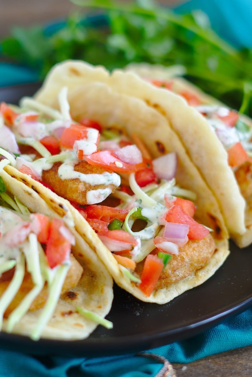 Beer battered fish tacos recipe mildly meandering for Sides for fish tacos