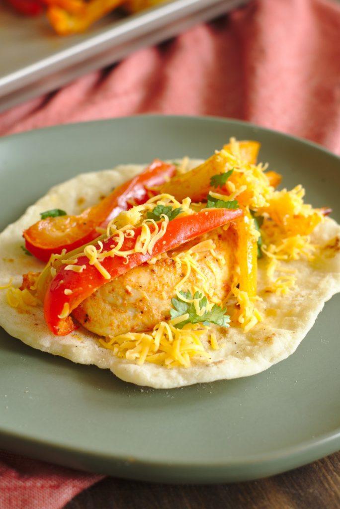 Oven Chicken Fajitas