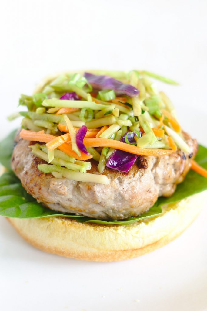 Ground Pork Burgers