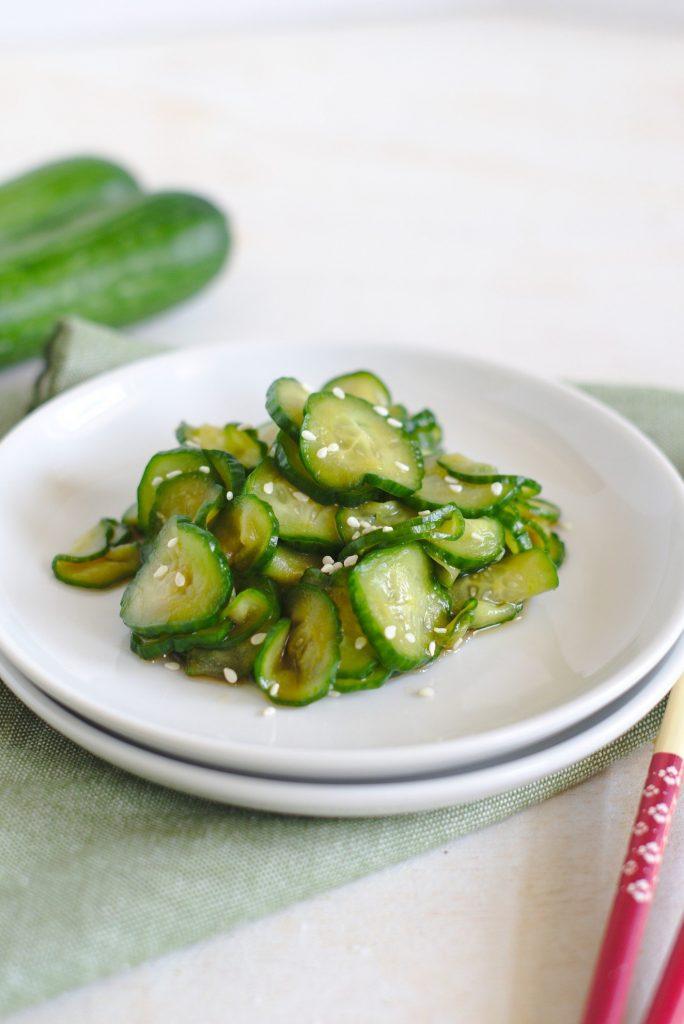 Japanese Cucumber Salad