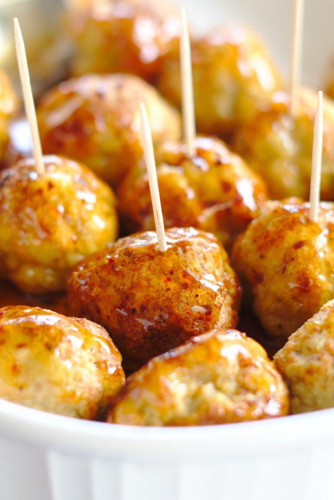 Ground Chicken Meatballs