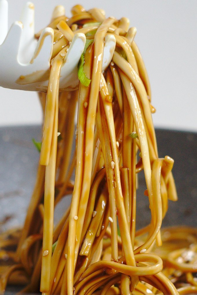 Easy Asian Noodle Recipe