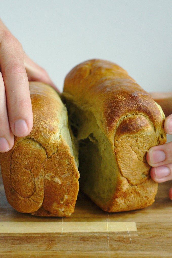 Green Tea Milk Bread
