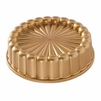 Nordic Ware 83577 Charlotte Cake Pan, One Size, Gold