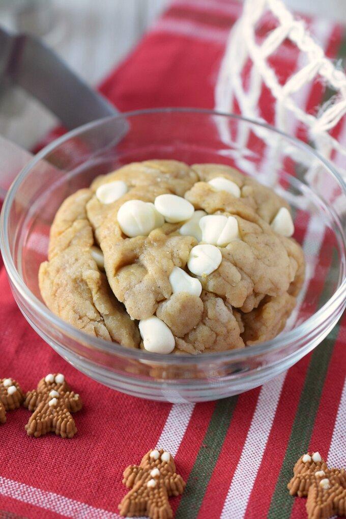 No Bake Gingerbread Cookie Dough