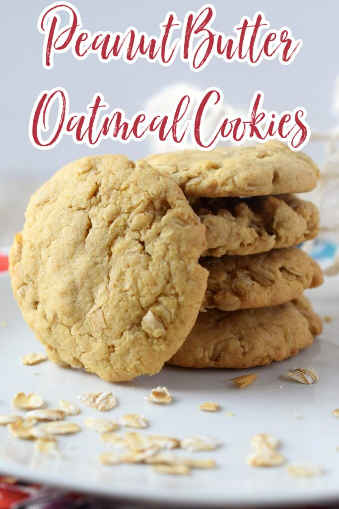 Peanut Butter Oatmeal Cookies – The perfect combination of a peanut butter cookie and an oatmeal cookie! Easy to make and so tasty! Peanut Butter Oatmeal Cookies   Peanut Butter Cookies   Oatmeal Cookies