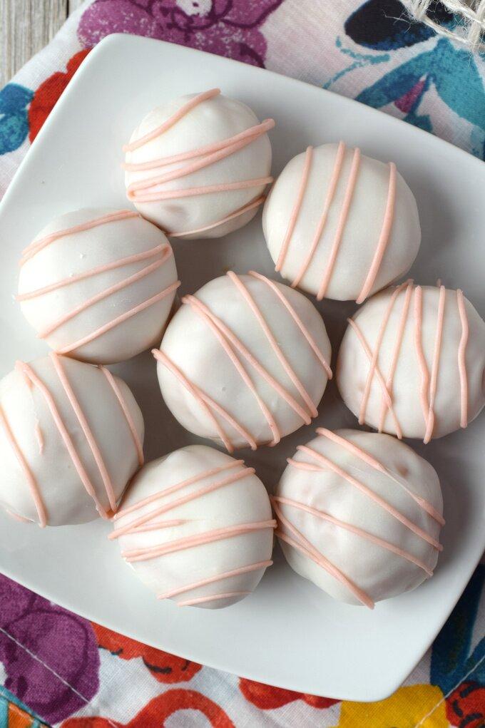 Cherry Cake Truffles