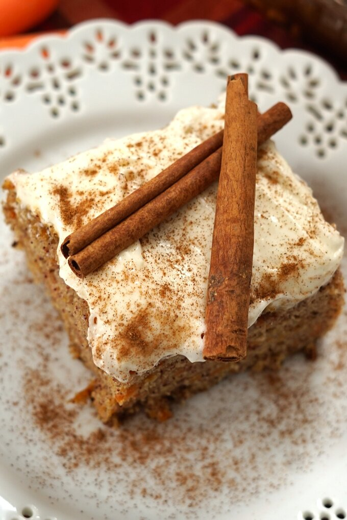 Sheet Pan Carrot Cake