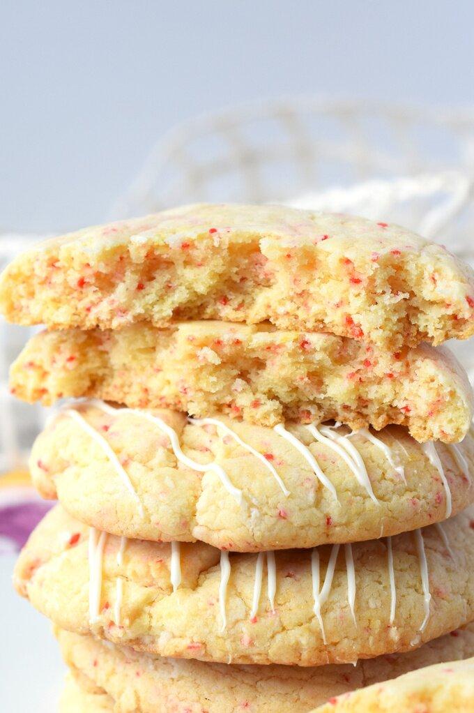 Cherry Chip Cookies