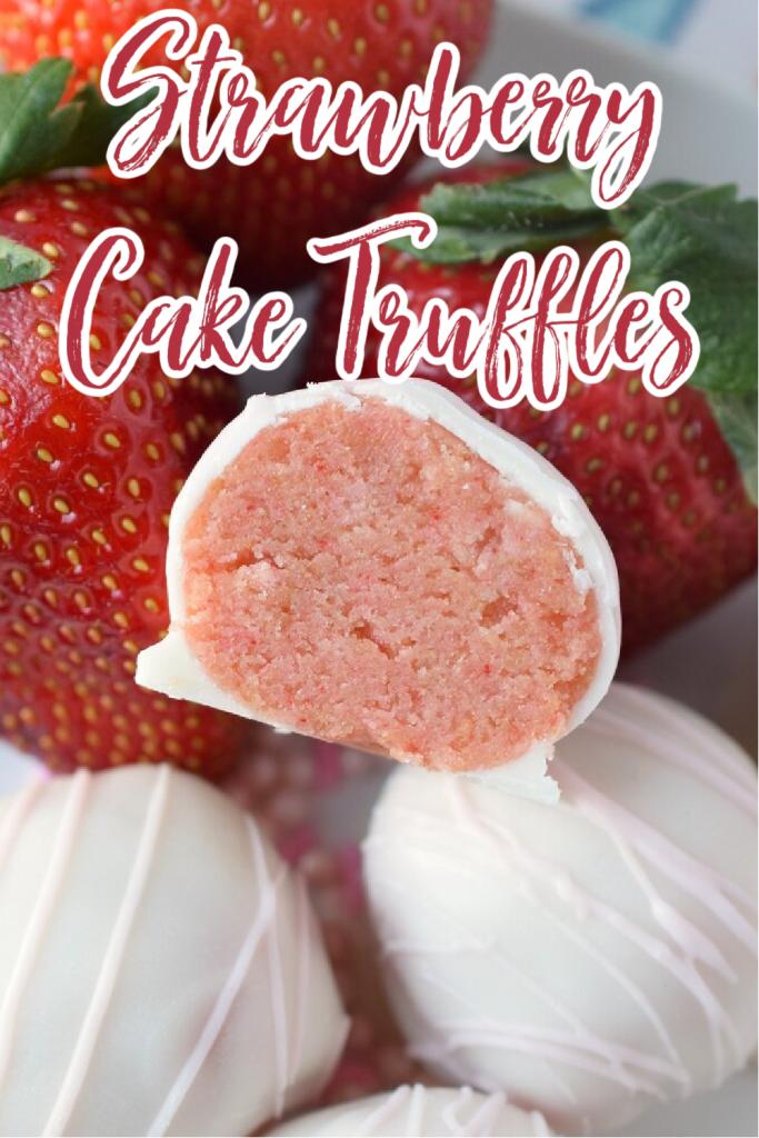Strawberry Cake Truffles Recipe