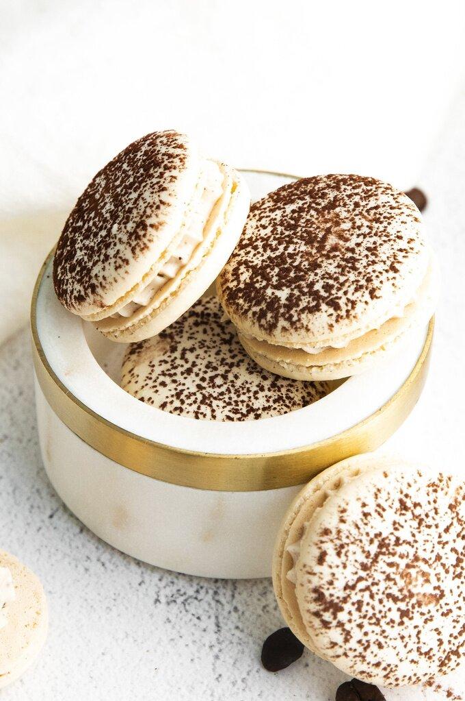 Tiramisu Macaron Recipe