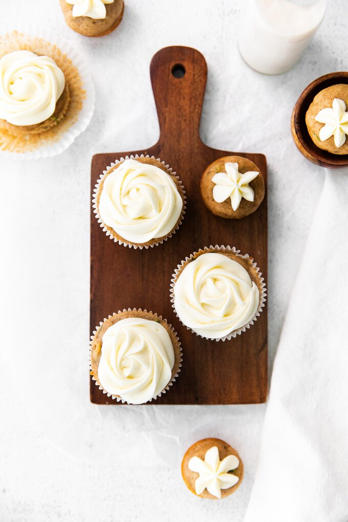 Zucchini Cupcakes Recipe