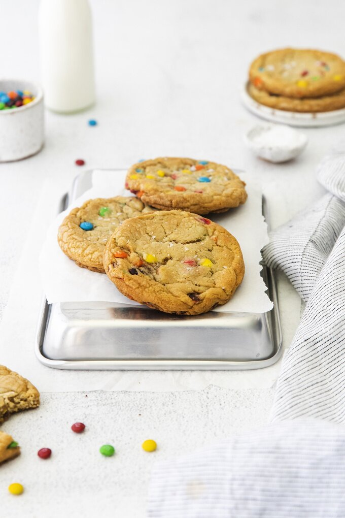 M&M Candy Cookies