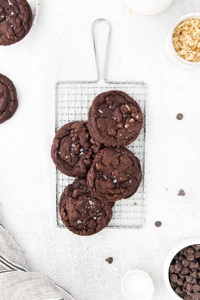Chocolate Crunch Cookies Recipe