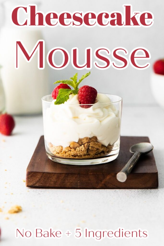 Cheesecake Mousse