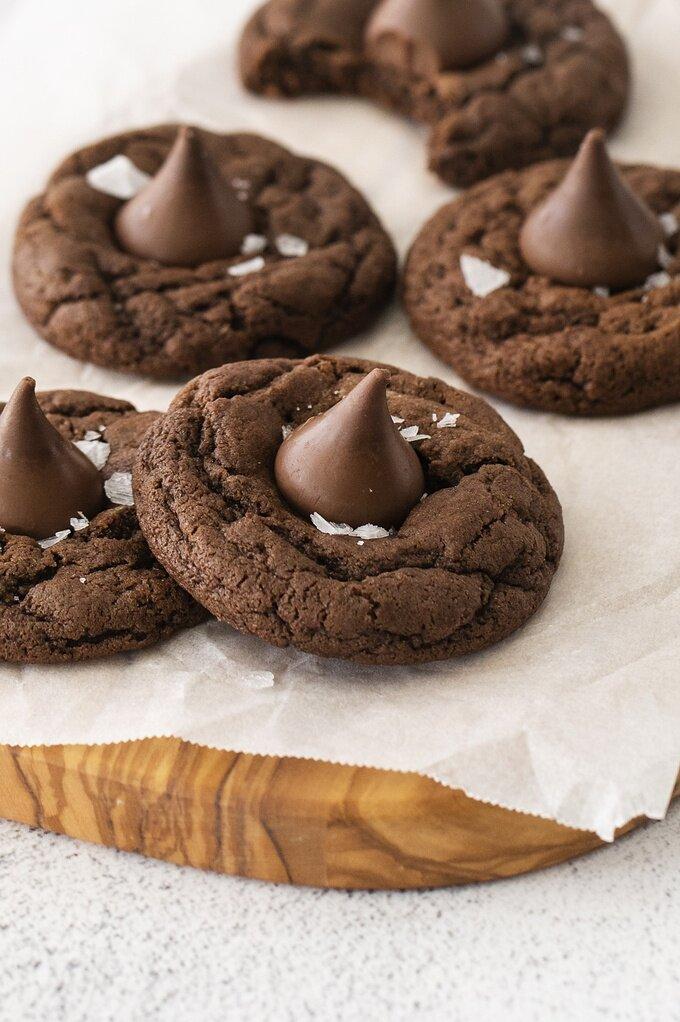 Chocolate Blossom Cookies