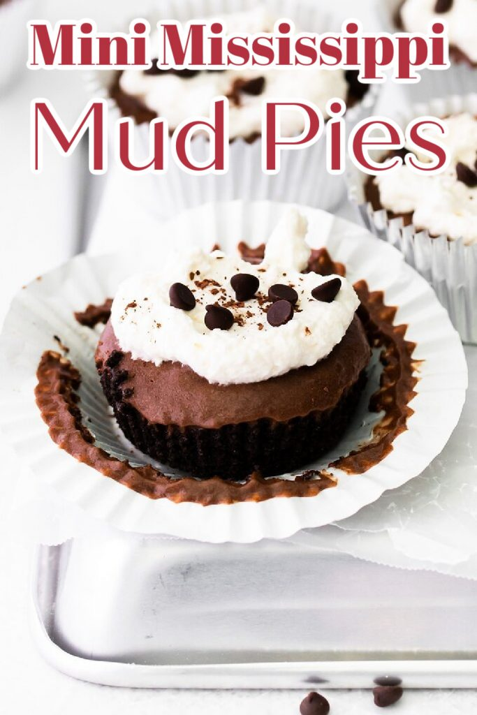 Mini Mississippi Mud Pies